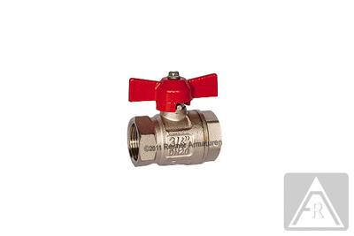 "2-way ball valve - brass  G 3/8"", PN 50, female/female"