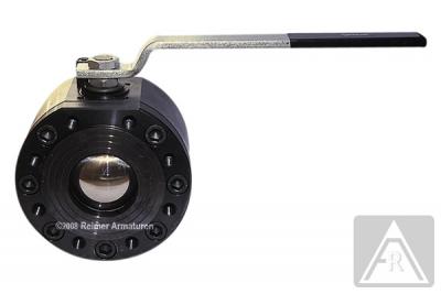 2-Wege Kompakt-Flanschkugelhahn aus Stahl, zweiteiliges Gehäuse, DN 50 bis DN 200, PN 40/16