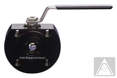 2-Wege Kompakt-Flanschkugelhahn aus Stahl, DN 40 bis DN 100, PN 40/16 - Kugel ragt im geschlossenen Zustand nicht über die Flanschdichtflächen