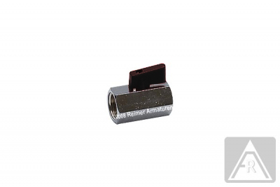 Mini- Kugelhahn aus Messing, G 1/8'' bis G 3/4'', PN 15, IG/IG