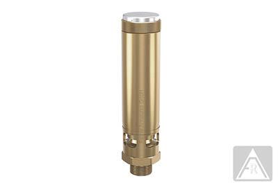 Hochleistungs- Sicherheitsventil - Messing, Preßluft - 0,2 bis 30 bar