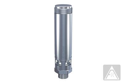 Sicherheitsventil aus Edelstahl, Preßluft, 0,2 bis 30 bar